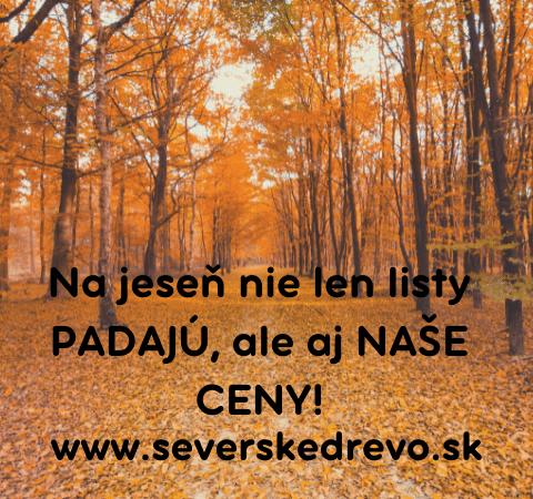Na jeseň nie len listy padajú, ale aj naše ceny! (1)